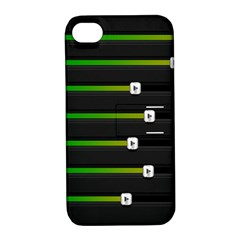Stock Illustration Rendering Seven Volume Apple Iphone 4/4s Hardshell Case With Stand