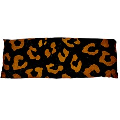 Skin5 Black Marble & Yellow Grunge Body Pillow Case Dakimakura (two Sides)