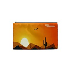 Sunset Natural Sky Cosmetic Bag (small)