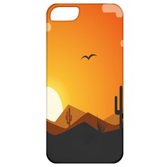 Sunset Natural Sky Apple Iphone 5 Classic Hardshell Case