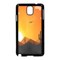 Sunset Natural Sky Samsung Galaxy Note 3 Neo Hardshell Case (black)