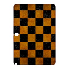 Square1 Black Marble & Yellow Grunge Samsung Galaxy Tab Pro 10 1 Hardshell Case
