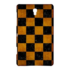 Square1 Black Marble & Yellow Grunge Samsung Galaxy Tab S (8 4 ) Hardshell Case