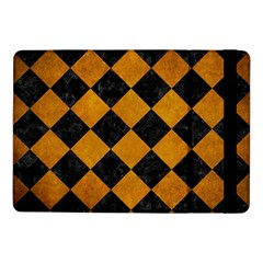 Square2 Black Marble & Yellow Grunge Samsung Galaxy Tab Pro 10 1  Flip Case