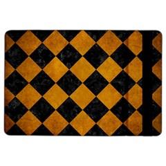 Square2 Black Marble & Yellow Grunge Ipad Air 2 Flip