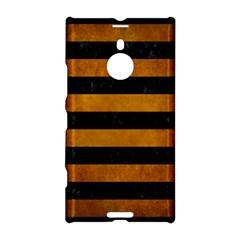 Stripes2 Black Marble & Yellow Grunge Nokia Lumia 1520