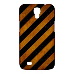 Stripes3 Black Marble & Yellow Grunge (r) Samsung Galaxy Mega 6 3  I9200 Hardshell Case