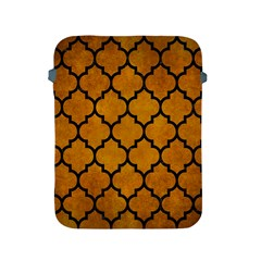 Tile1 Black Marble & Yellow Grunge Apple Ipad 2/3/4 Protective Soft Cases