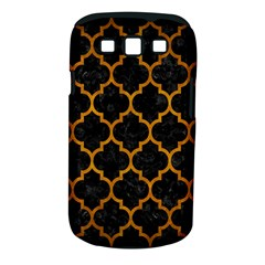 Tile1 Black Marble & Yellow Grunge (r) Samsung Galaxy S Iii Classic Hardshell Case (pc+silicone)