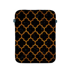 Tile1 Black Marble & Yellow Grunge (r) Apple Ipad 2/3/4 Protective Soft Cases