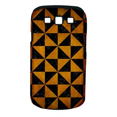 Triangle1 Black Marble & Yellow Grunge Samsung Galaxy S Iii Classic Hardshell Case (pc+silicone)