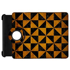 Triangle1 Black Marble & Yellow Grunge Kindle Fire Hd 7