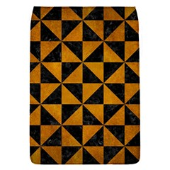 Triangle1 Black Marble & Yellow Grunge Flap Covers (s)
