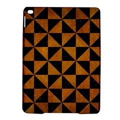 Triangle1 Black Marble & Yellow Grunge Ipad Air 2 Hardshell Cases