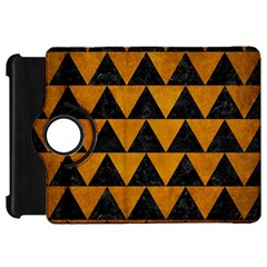 Triangle2 Black Marble & Yellow Grunge Kindle Fire Hd 7