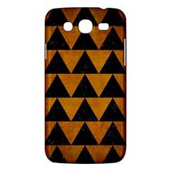 Triangle2 Black Marble & Yellow Grunge Samsung Galaxy Mega 5 8 I9152 Hardshell Case