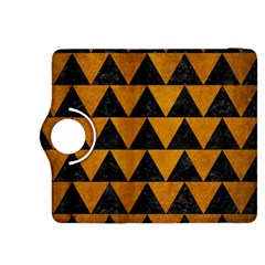 Triangle2 Black Marble & Yellow Grunge Kindle Fire Hdx 8 9  Flip 360 Case
