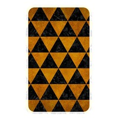 Triangle3 Black Marble & Yellow Grunge Memory Card Reader
