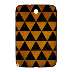 Triangle3 Black Marble & Yellow Grunge Samsung Galaxy Note 8 0 N5100 Hardshell Case