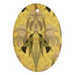 Art Nouveau Ornament (oval)