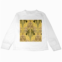 Art Nouveau Kids Long Sleeve T Shirts