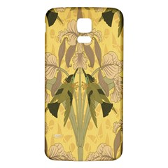Art Nouveau Samsung Galaxy S5 Back Case (white)