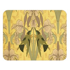 Art Nouveau Double Sided Flano Blanket (large)