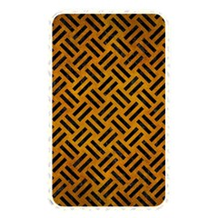 Woven2 Black Marble & Yellow Grunge Memory Card Reader