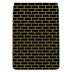 Brick1 Black Marble & Yellow Leather (r) Flap Covers (s)