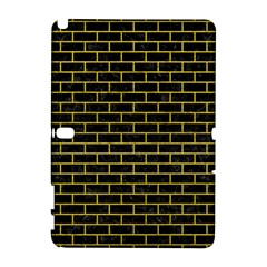 Brick1 Black Marble & Yellow Leather (r) Galaxy Note 1