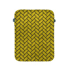 Brick2 Black Marble & Yellow Leather Apple Ipad 2/3/4 Protective Soft Cases