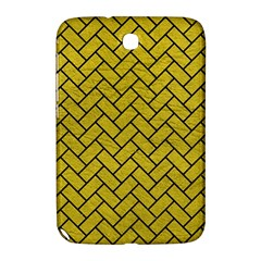 Brick2 Black Marble & Yellow Leather Samsung Galaxy Note 8 0 N5100 Hardshell Case