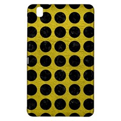 Circles1 Black Marble & Yellow Leather Samsung Galaxy Tab Pro 8 4 Hardshell Case