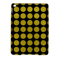 Circles1 Black Marble & Yellow Leather (r) Ipad Air 2 Hardshell Cases