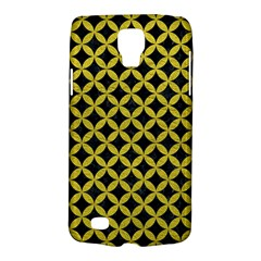 Circles3 Black Marble & Yellow Leather (r) Galaxy S4 Active