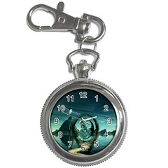 Cute Fairy Dancing On The Moon Key Chain Watches