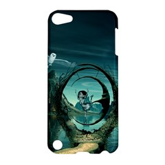 Cute Fairy Dancing On The Moon Apple Ipod Touch 5 Hardshell Case