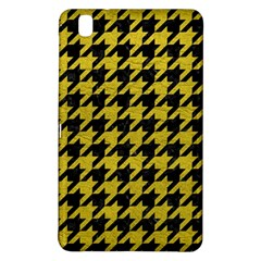 Houndstooth1 Black Marble & Yellow Leather Samsung Galaxy Tab Pro 8 4 Hardshell Case