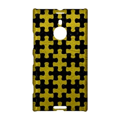 Puzzle1 Black Marble & Yellow Leather Nokia Lumia 1520