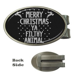 Ugly Christmas Sweater Money Clips (oval)