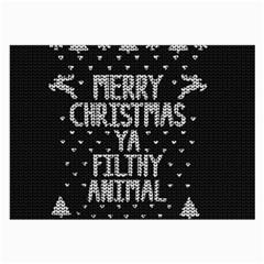 Ugly Christmas Sweater Large Glasses Cloth (2 Side)