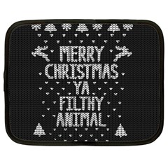 Ugly Christmas Sweater Netbook Case (xxl)