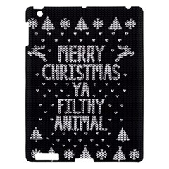 Ugly Christmas Sweater Apple Ipad 3/4 Hardshell Case
