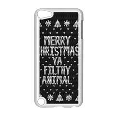 Ugly Christmas Sweater Apple Ipod Touch 5 Case (white)