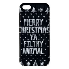 Ugly Christmas Sweater Iphone 5s/ Se Premium Hardshell Case