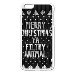 Ugly Christmas Sweater Apple Iphone 6 Plus/6s Plus Enamel White Case