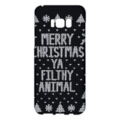 Ugly Christmas Sweater Samsung Galaxy S8 Plus Hardshell Case