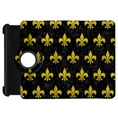 Royal1 Black Marble & Yellow Leather Kindle Fire Hd 7