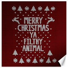 Ugly Christmas Sweater Canvas 20  X 20