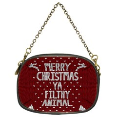 Ugly Christmas Sweater Chain Purses (one Side)